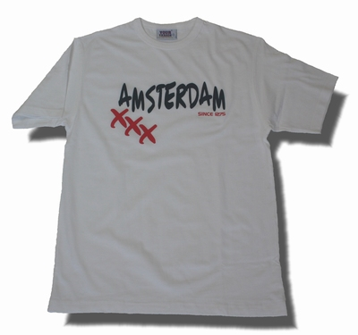 Fashion T-Shirt Amsterdam XXX 1275