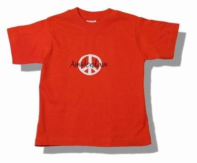 Regular Kids T-Shirt Peace