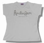 Dames Shirt Amsterdam White